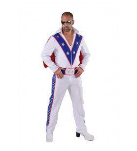 Superheld Stuntman Sterren Kostuum