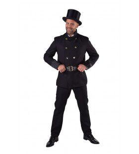 Schoorsteenveger Dickens Zwart Als Roet Man Kostuum