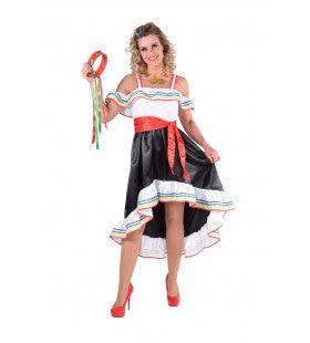 Hongaars Csardas Volksdans Vrouw Kostuum