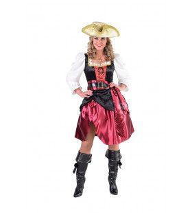 Verleidelijke Hoog Water Pirate Vrouw Kostuum