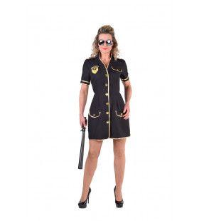 Handhaver Der Wet Agente Vrouw Kostuum