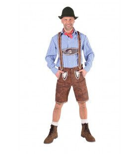 Lederhosen Karl Krombacher Man Kostuum