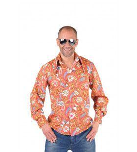 Jaren 60 Paisley Hemd Man