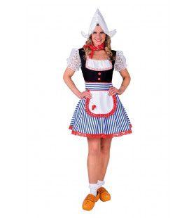 Sexy Volendamse Paling Boerin Vrouw Kostuum