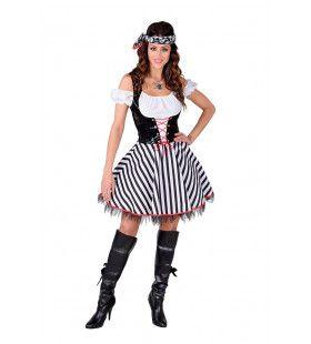 Vat Vol Rum Zeerover Vrouw Kostuum