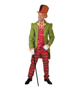 19e Eeuws Victoriaans Dickens Man Kostuum