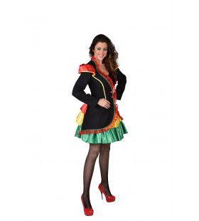 Limburgs Carnaval Rio Brasil Jas Vrouw
