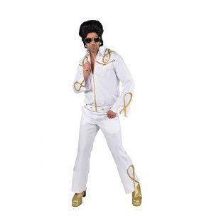 Gouden Generatie Rock And Roll Elvis Man Kostuum