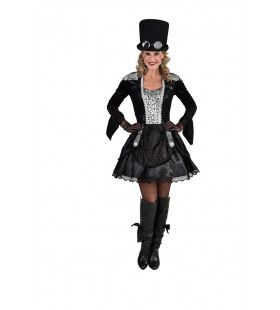 Steeltown Steampunk Sleutels Vrouw Kostuum