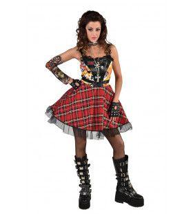 Joanna Rotten Punk Muziek Vrouw Kostuum