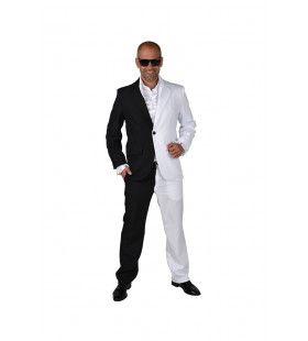 Zwart Wit Is Het Nieuwe Grijs Cocktail Party Man Kostuum