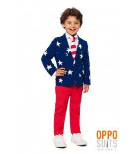 Stars & Stripes USA Jongen Kostuum