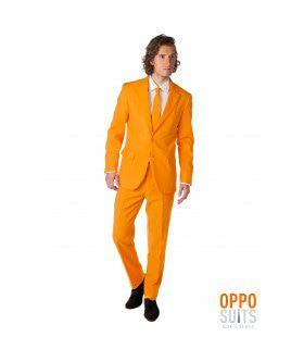 The Orange Opposuit Oranje Goes Koningsdag Opposuit Kostuum Man
