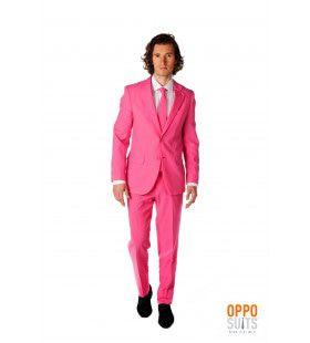 Mr. Pinker Then Pink Roze Opposuit Kostuum Man