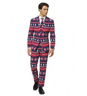 Nordic Noel Kerstbomen IJskristallen Man Kostuum