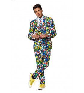 Super Mario Computerspel Man Kostuum