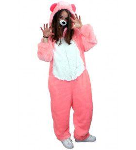 Schattige Bruno De Beer Pluche Roze Kostuum