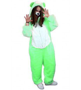 Schattige Bruno De Beer Pluche Groen Kostuum
