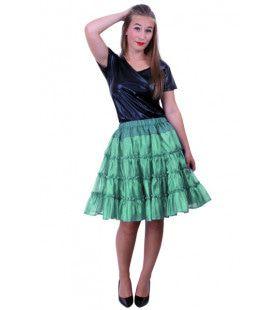 Rock A Baby Petticoat 5 Laags Groen