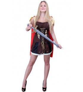 Signorina Gladiator Dames Jurk Vrouw