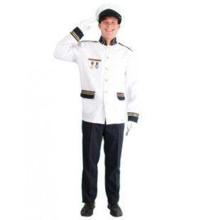 Mouton Cadet Kapitein Jas Met Hoed Man Kostuum
