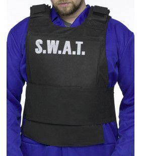Swat Vest Volwassen Man Kostuum