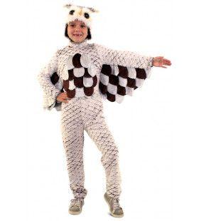 Wollige Pluche Uil Kostuum