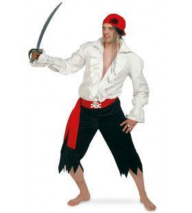Piraten Ruches Blouse