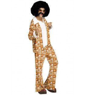 Ultra Retro Disco Dude Man Kostuum