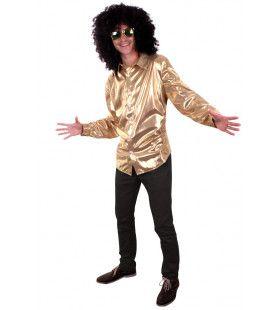 Gouden Bling Bling Disco Blouse