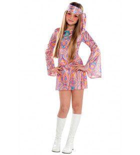 Dolle Hippie Dolly Meisje Kostuum