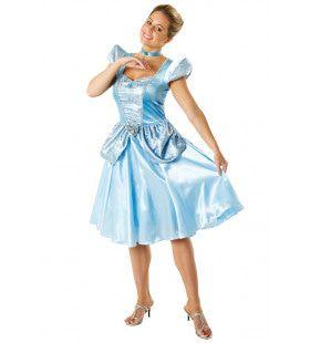 Cinderella Assepoester Prinses Meisje Kostuum