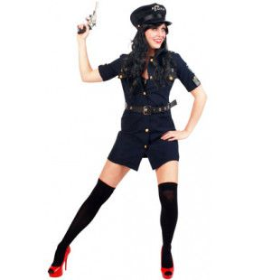 Gretige Gracieuze Agente Vrouw Kostuum