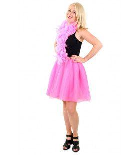 Tule Rok Uit Dansen Roze Vrouw