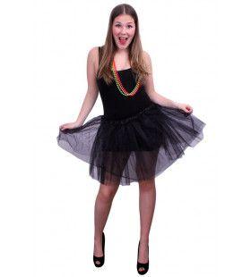 Tule Rok Ballet Zwart Vrouw