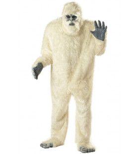 Verschrikkelijke Sneeuwman Yeti Kostuum