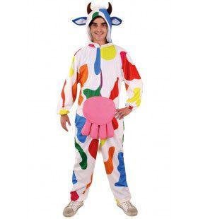 Bonte Koe Mondriaan Kostuum