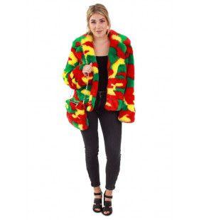 Camouflage Bontjas Reggae Limburg Vrouw