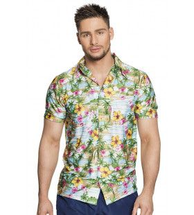 Tropisch Paradijs Hawaii Shirt Man