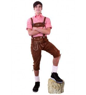Lederhose Sigmund Schlappeseppel Oktoberfest Man