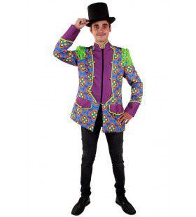 Flower Power Jas Hippie Circus Directeur Man