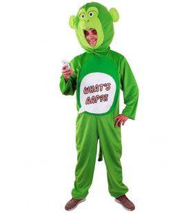 Geinig Whats Aap Westerse Jungle Man Kostuum