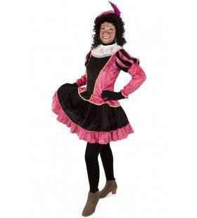 Piet Jurkje Met Petticoat Roze Vrouw