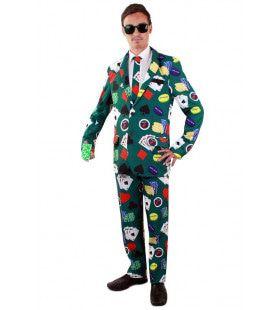 Speelkaarten Poker Casino Gok Man Kostuum