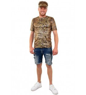 Panter Shirt Unisex Terug Naar De Jungle Kostuum