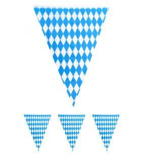 Vlaggenlijn Oktoberfest Blauw / Wit 1