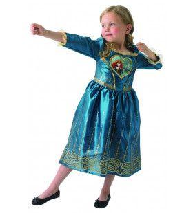 Merida Loveheart Middeleeuwse Brave Prinses Meisje Kostuum