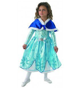 Sofia Het Prinsesje Sneeuwkristallen Winter Meisje Kostuum