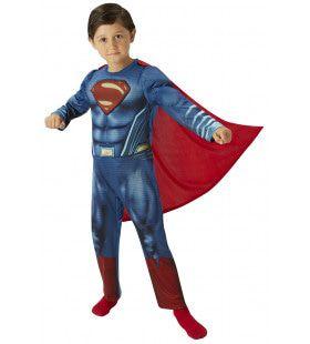 Superman Deluxe Leider Van De Justice League Kind Kostuum