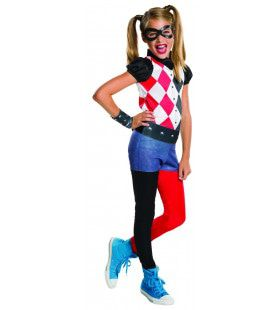 Harley Quinn Superschurk Kind Kostuum